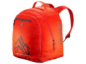 SALOMON MEN'S LADIES JUNIOR ORIGINAL BOOT GEAR BACKPACK BAG CHERRY TOMATO