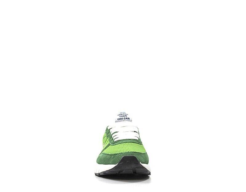 Chaussures SUN68 SUN68 SUN68 Homme VERDE en daim,Tissu Z18101-88S 4053b7