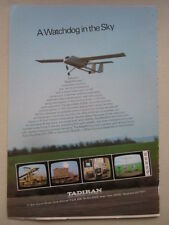 10/1983 PUB TADIRAN ISRAEL UAV UNMANNED AIR VEHICLE DRONE RPV MASTIFF AD