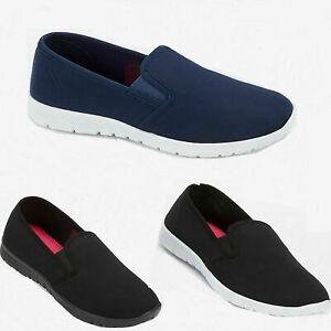 Ladies Memory Foam Slip On Shoes Womens