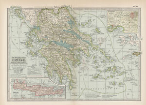 1897 Greece, Crete and Samos by The Century Co,