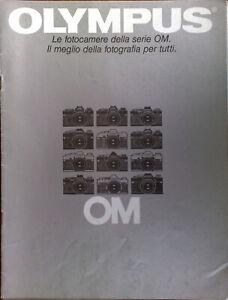 OLYMPUS-OM-FOTOCAMERE-BROCHURE-anni-80