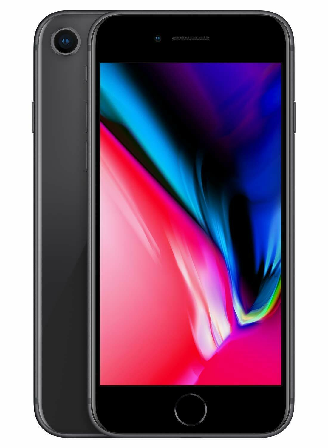 Apple iPhone 8 64GB Factory Unlocked All Carriers Refurbished - Space Grey