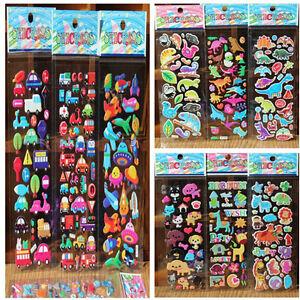 10pcs-Lot-Bubble-Stickers-3D-Cartoon-KIds-ClassicToys-Sticker-School-Reward-TB