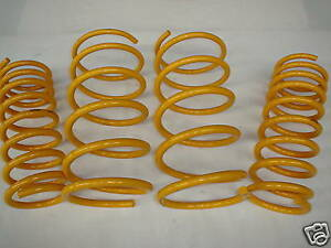 Lowered-HD-Front-amp-Rear-KING-Springs-to-suit-V8-Commodore-VL-Sedan-Models