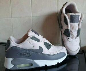 Girls Nike AirMax 90 Trainers - Size UK