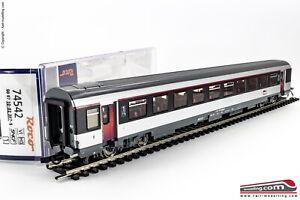 ROCO-74542-H0-1-87-Carrozza-SNCF-034-Corail-034-1-cl-tipo-A10rtu-Ep-VI