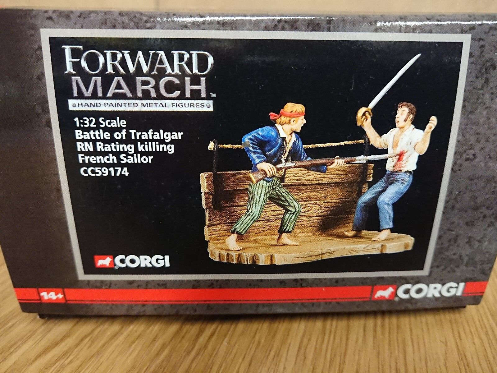 Corgi CC59174 Forward March slåss of Trafalgar R.N. Rating Ltd Edit.1250
