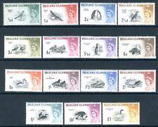 FALKLANDS ISLANDS-1960-66 Birds Mint Set to £1 Majority unmounted V15958