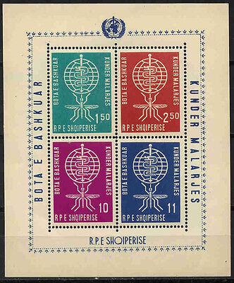 Erhalt 10843 Katalognummern Nach Michel-katalog Clever Albanien Block 7a * * Malaria