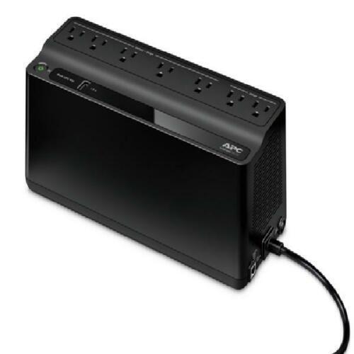 APC UPS Battery Backup & Surge Protector with USB Charger, 6
