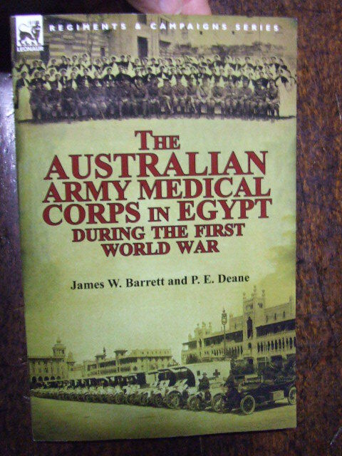 History of the Australian Army Medical Corps Egypt WWI  Anzac Girls Unit