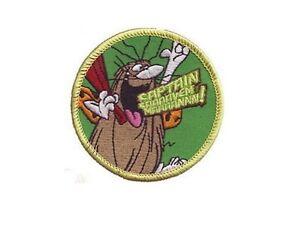 Ecusson-Capitaine-Caverne-Officiel-sous-blister-Captain-caveman-official-patch