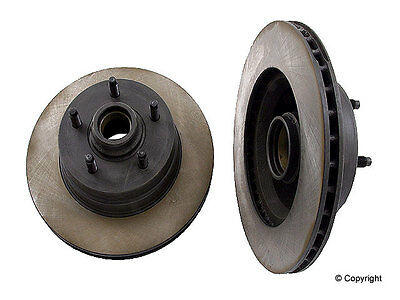 NEW For Jeep Cherokee Comanche Set of 2 Front Disc Brake Rotors Opparts