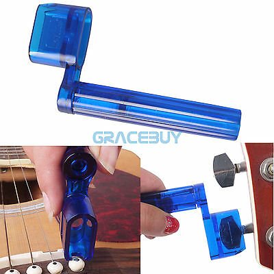 Alice Acoustic Electric Guitar String Winder Bridge Pins Puller Remover Plastic