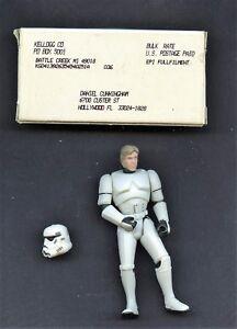 Han Solo en tant que Stormtrooper Star Wars Vintage Kellogg 3.5 In.   Figurine