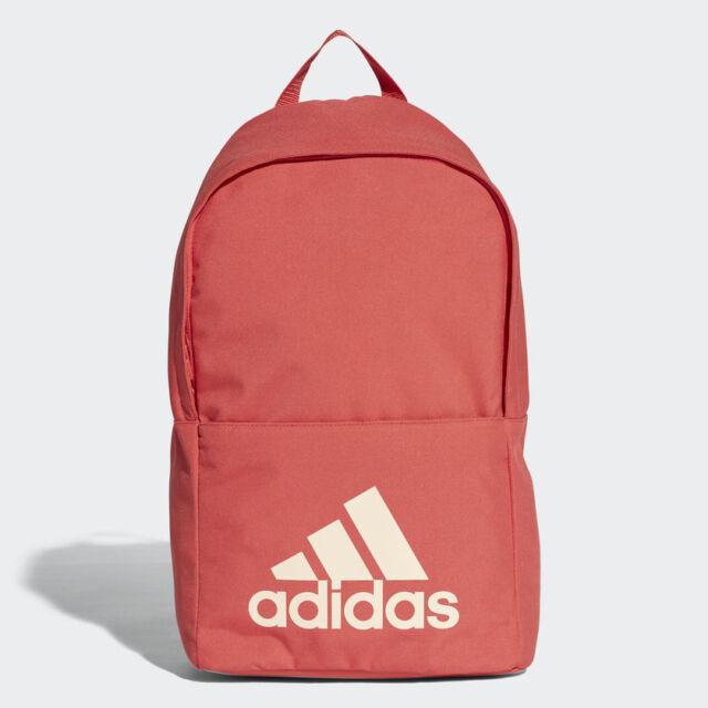 67c014170b Adidas Classic Backpack Women s Girls Rucksack Work School Bag - CG0518 -  Red