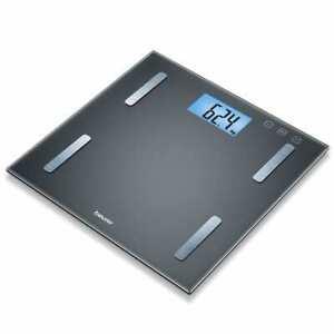 Beurer-Analysis-Bathroom-Scales-BF-180-Glass-Black-Digital-Bathroom-Scale