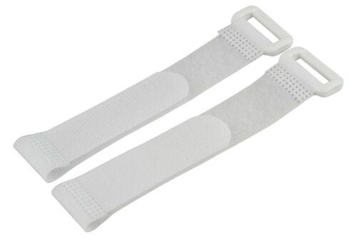 YUKI MODEL 2 x Klettband • selbstklebend • 200 x 20mm Akku Befestigung 650016