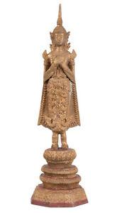 Thailand-20-Jh-A-Thai-Bronze-Figure-of-Buddha-in-Rattanakosin-style-Bouddha