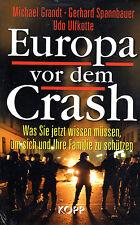 EUROPA VOR DEM CRASH - M. Grandt G.Spannbauer Udo Ulfkotte BUCH - KOPP VERLAG