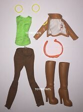 Monster High Student Disembody Council Gilda Goldstag Doll Outfit & Shoes NEW