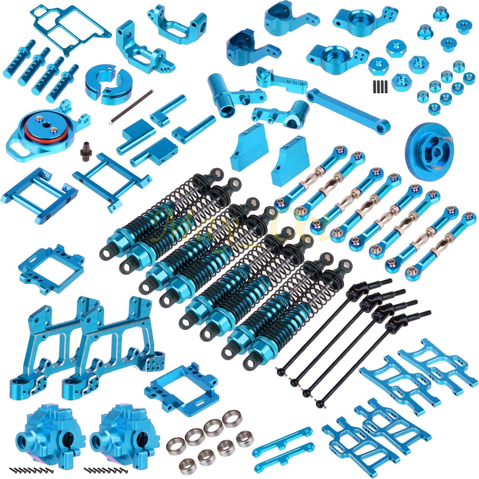 Paquete de piezas de actualización para Hsp 1 10 RC 4 WD Nitro Power Off-road Truck 94108 Azul