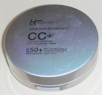 It Cosmetics Cc+ Color Correcting Full Coverage Cream - Tan - Sealed (read)