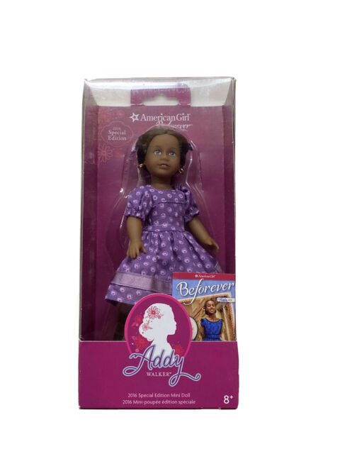 New American Girl Beforever Doll - Addy Walker- 2016 Special Edition Mini Doll