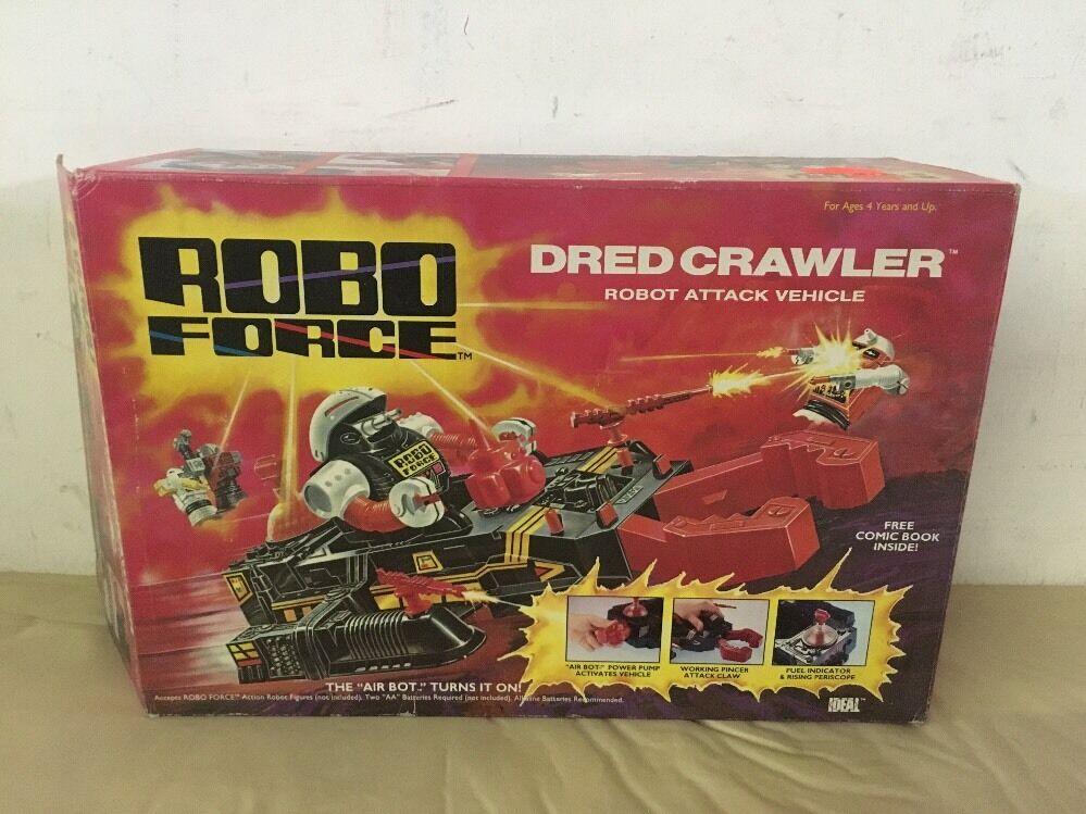 1984 Robo Force DRED CRAWLER No. 48133 Ideal NOS Vintage