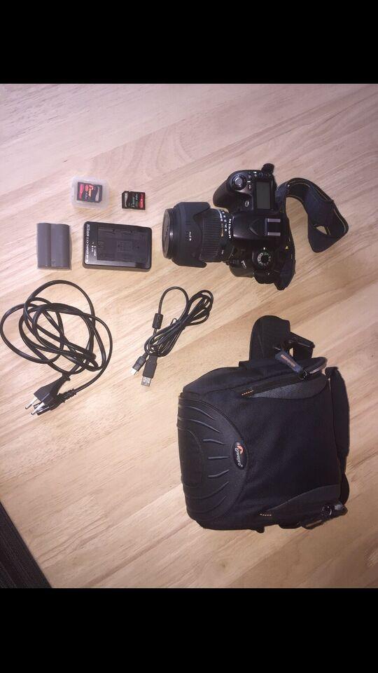 Nikon D80, spejlrefleks, 12.3 megapixels