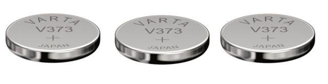 Sending Under Follow VARTA Batch 3 Batteries Silver Oxide V373 373 SR916SW 1,55