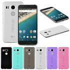 Ultra Thin Matte TPU Cover Transparent Gel Case For LG V10 Nexus 6P/5X HTC M8 P7