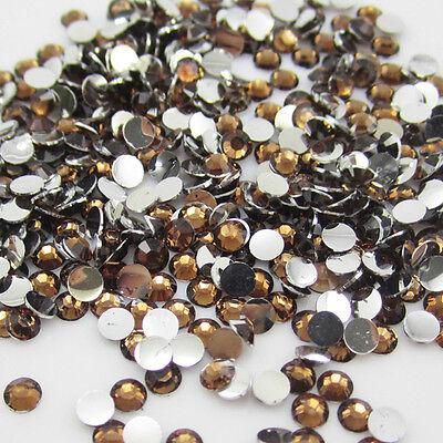 New Diy 800pcs 4mm Facets Resin Rhinestone Gems Flat Back Crystal beads 11