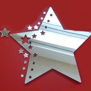 Star Cluster Acrylic Mirror (Several Sizes Available)