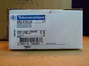 Schneider Telemecanique SR3 XT61JD zelio logic expansion module relay (O0)