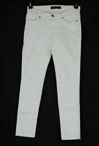 NWOT-Rock-amp-Republic-Straight-Leg-Mid-Rise-Womens-Jeans-White-Size-2-W26-L28