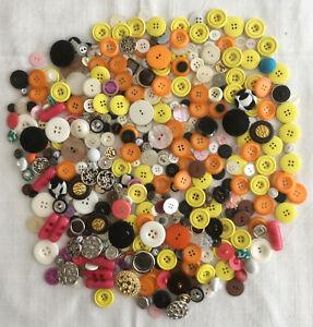 Lot-de-450-Boutons-de-Couture-Mercerie-Loisirs-Creatifs-Fermetures-Attaches