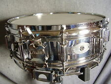 ROGERS 7-Line Dynasonic 5x14 Player Snare Drum No Frame AUDIO SOUNDFILE Demo!