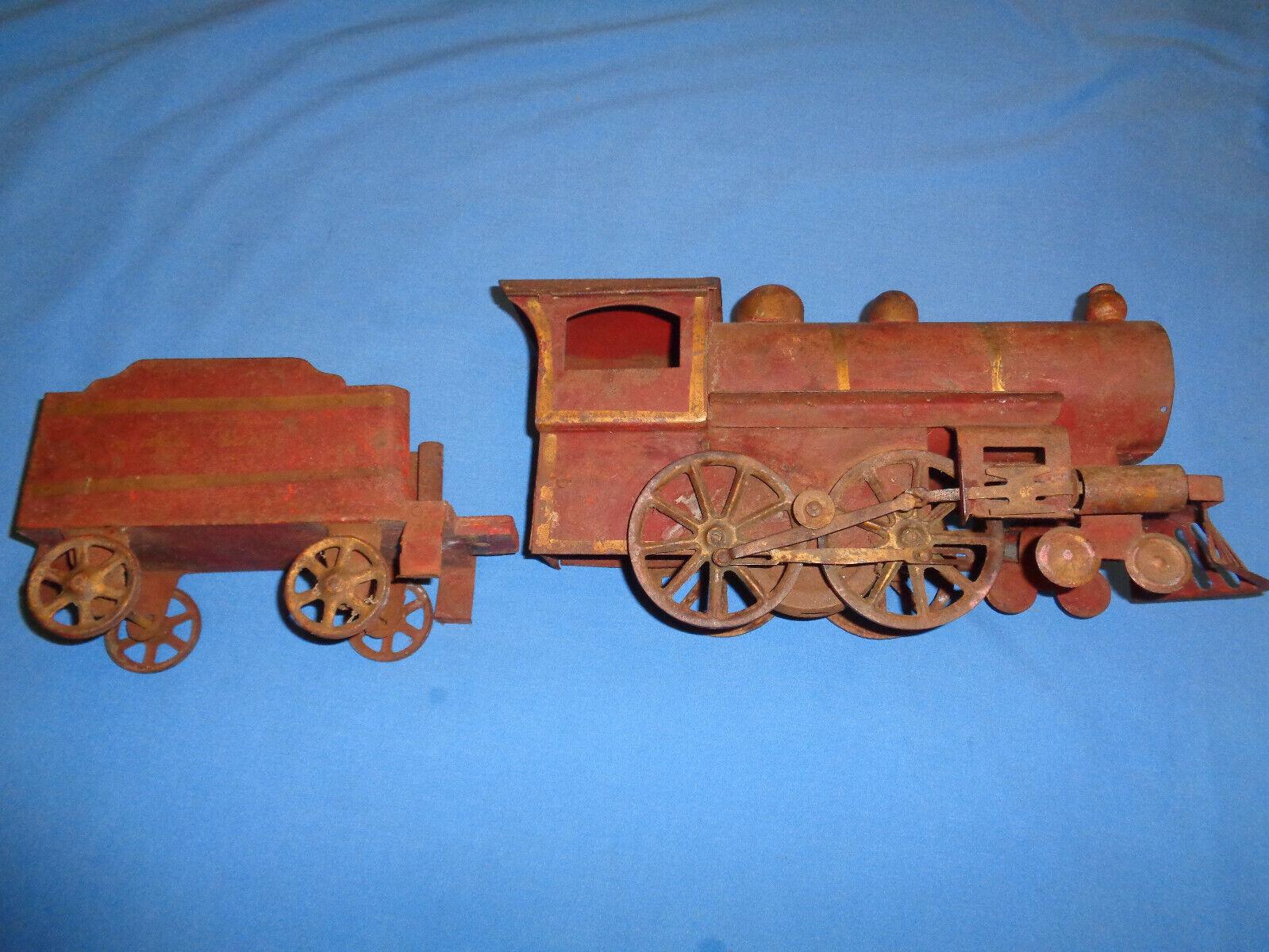 Vintage Dayton Dayton Dayton Hill Climber Steam Locomotive and Tender 8ab