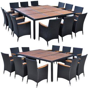 Tavoli E Sedie In Legno Per Esterno.Vidaxl Arredi Da Esterno Tavolo E Sedie Legno Di Acacia Nero Misure