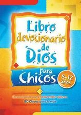 Libro devocionario de Dios para chicos - God's Little Devotional Book For Boys