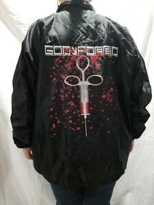 God-Forbid-Windbreaker-Jacket-Men-039-s-XL