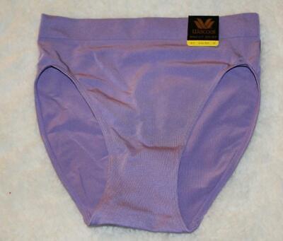Wacoal B SMOOTH~HI CUT BRIEF Panties~834175~Valentine Red~Light//Dark Purple