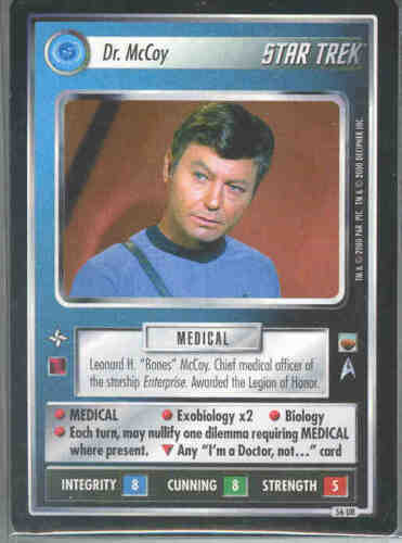 Star Trek CCG Trouble With Tribbles Complete card Set