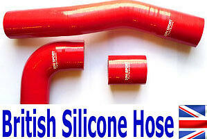 LAND ROVER DISCOVERY 300 TDi SILICONE INTERCOOLER  HOSE KIT RED