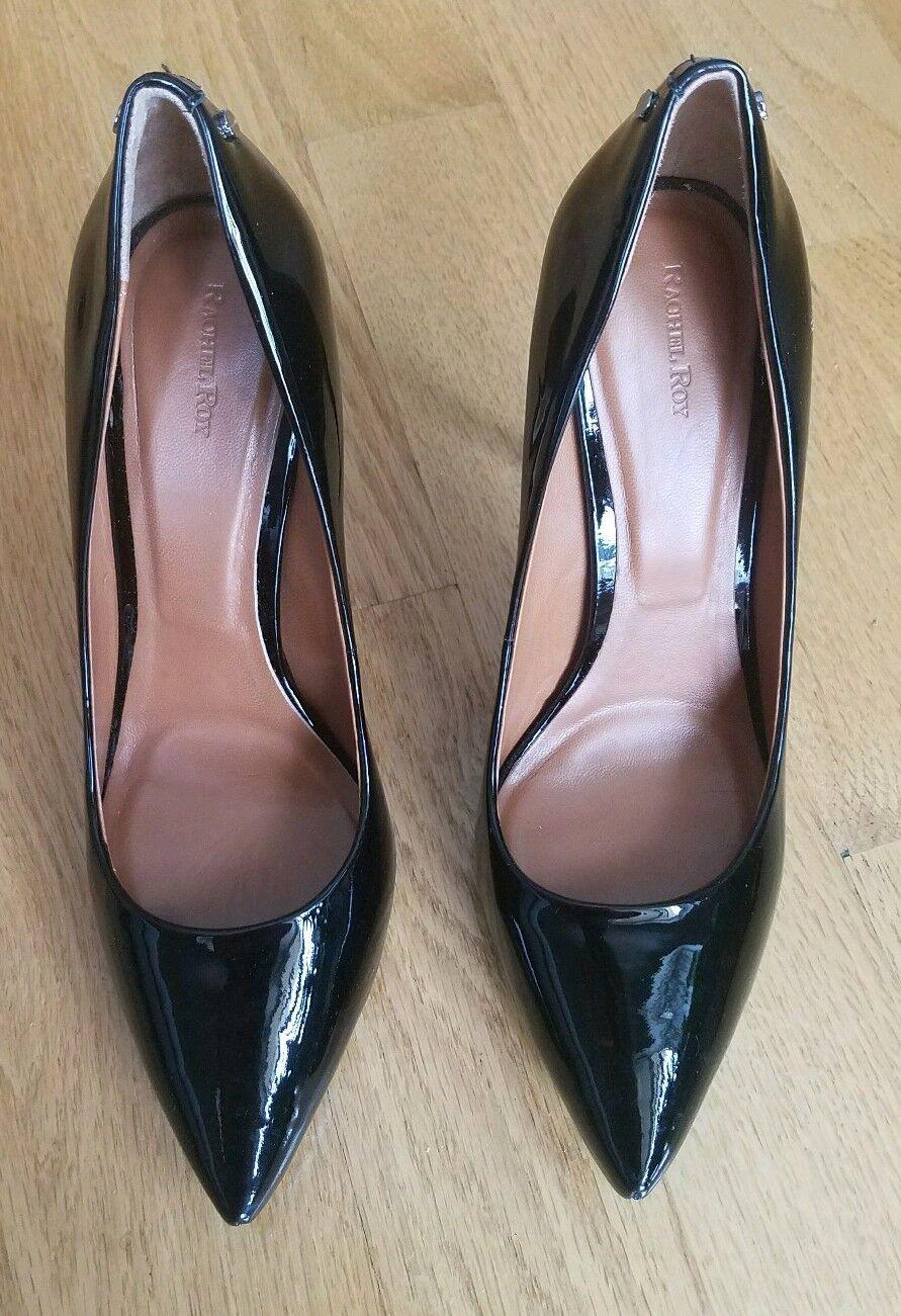 Rachel Roy black patent leather Stiletto Pumps, size 9,5,  450