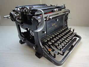 """Mechanische Schreibmaschine """"CONTINENTAL A"""", Wanderer Werke Schönau, 20er Jahre"""
