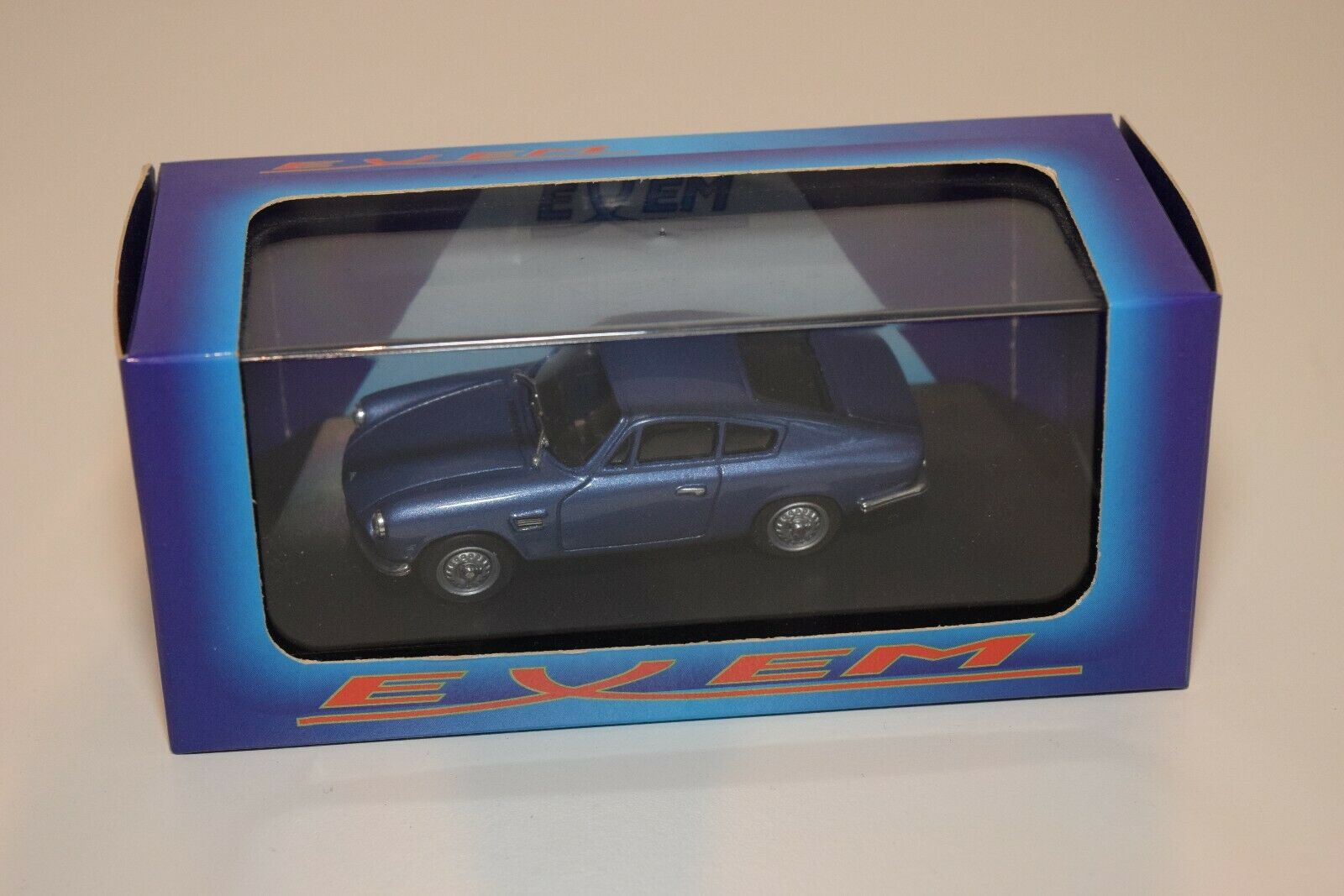 FF 1 43 EXEM EX R1010 ASA 1000 COUPE STRADALE 1961 azul MINT BOXED RARE SELTEN