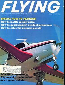 Flying Magazine February 1972 Bonanza Birthday EX w/ML 112916jhe